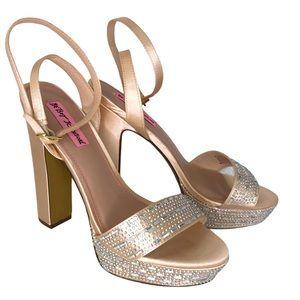 Betsey Johnson Allyson Ankle Strap Platform Sandal